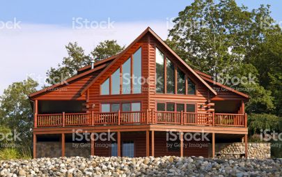 Проект дома из бревна № 2